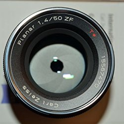 Zeiss 50Mm F/1.4 Planar T* Zf Manual Focus Standard Lens For The Nikon F (Ai-S) Bayonet Slr System.