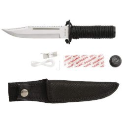 "Maxam 9.25"" Survival Knife W/ Sheath"