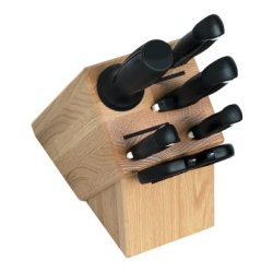 Kershaw 9900 Series 7-Piece Stainless-Steel Knife Set With Bamboo Block