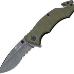 Mtech Usa Xtreme Mx-A808Gn Spring Assisted Knife, 4.5-Inch