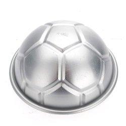 3.2 Inch 3D Football Aluminum Diy Birthday Cake Baking Jello Pan Mould