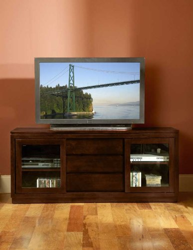 Image of TV STAND WITH SLIDING DOOR (8023-T)