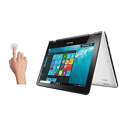 Lenovo Yoga 300 80M1003WIN Touch Laptop (Quad Core (6th Gen)/4GB/500GB + 8GB SSD/Windows 10)