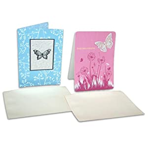 Tree-Free Greetings Plantable All Occasion Cards, Wildflower Paper Cards and Envelopes, 5 x 7 Inches, 12 Count Assortment (00021)