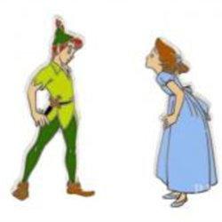 Disney Pin 102232 Peter Pan & Wendy (2 Pin Set) Pins