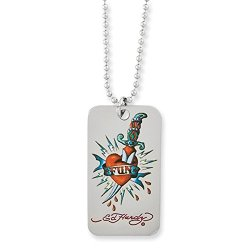 Fun Knife Dog Tag Necklace, 24 Inch, Jewelry Chains And Necklaces For Women