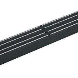 "Master Magnetics 07577 Magnetic Tool Holder With Magnetic Mount, 12"" Wide, 30 Lb Per Inch, Flat, Black"