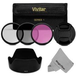 Hb-32 Dedicated Lens Hood + 67Mm Professional Accessory Kit For Nikon 18-140Mm F/3.5-5.6G Ed Vr, 18-135Mm F/3.5-5.6G If-Ed, 18-105Mm F/3.5-5.6G Ed Vr, 18-70Mm F/3.5-4.5G If-Ed Nikkor Dx Lenses (Nikon Hb-32 Replacement) - Kit Includes: Hb-32 Lens Hood + Vi