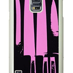 Samsung Galaxy S5 Cases & Covers Purple Knives Custom Pc Hard Case Cover For Samsung Galaxy S5 White