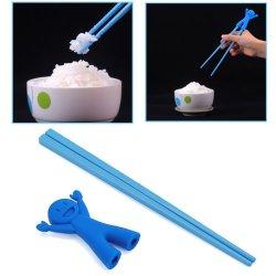 Hde Kid'S And Beginner'S Happy Man Hinged Training Chinese Chopsticks