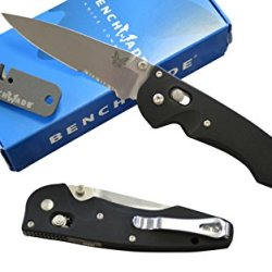 Benchmade 477S Large Emissary Assisted Opening Knife With Free Benchmade Sharpener