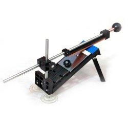 Vktech® Fixed-Angle Knife Sharpener Professional Kitchen Knife Sharpener Kits System 4 Sharpening Stones