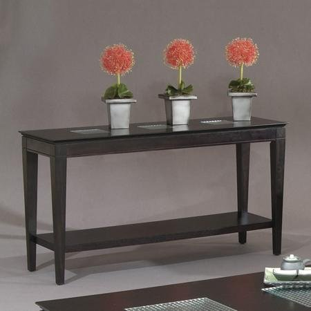 Image of Mocchiato Console Table in Dark Cappuccino (T1216-400)