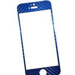E821 Premium 3D Tempered Glass Screen Protector For Iphone 5/Iphone 5S/Iphone 5C - (Hd,9H,0.33Mm2.5D) - Ultra Clear,Anti Scratch,Bubble Free,Reduce Fingerprint,Easy Install (Blue)