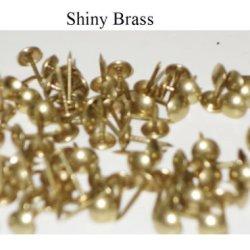 "*7/16"" Brass Tacks - Low Dome 1000/Pk"