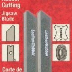 Vermont American 30022 U Shank 3-1/8-Inch Knife Cork, Leather, Vinyl Cutting Jigsaw Blade, 2-Pack