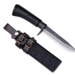 Kanetsune Seki Urushi Damascus Knife + Sheath Kb-203