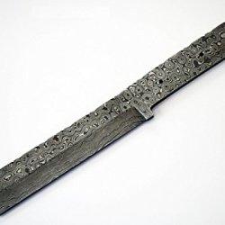 Damascus High Carbon Steel Tanto Blank Blade Knife Knives Japanese Samurai Custom Making
