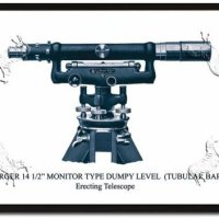 Surveying Poster 20x30 Berger Monitor Type Dumpy Level (Tubular Bar)