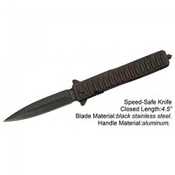 "New 8"" Folding Spring Assisted Knife Bullet Detail Handle"