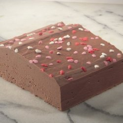 Valentine Chocolate Fudge