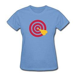 Women Darts Hot Topic T-Shirt Size Xl Color Sky