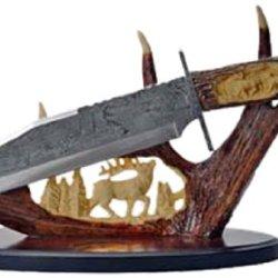 Szco Supplies Deer Antler Display Knife