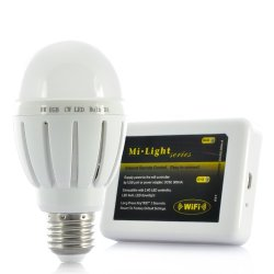 6W Led Light Bulb - Wi-Fi Control Kit, Support Ios + Android Devices