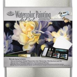 Royal & Langnickel Large Tin Watercolor Painting Art Set