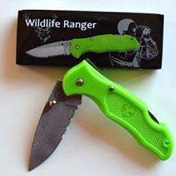 Wildlife Ranger Hunting Folding Pocket Knife