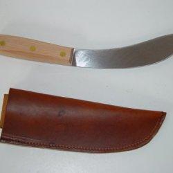 "10.5"" Green River Buffalo Skinner Knife W/Leather Belt Sheath"