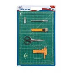 "Self-Healing Cutting Mat Kit Size: 12"" W X 18"" D"