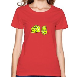 Cute Cheese Art Woment Shirt