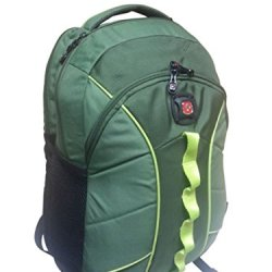 "Swissgear 16"" Laptop Backpack, The Sun, Olive/Citron, Green"