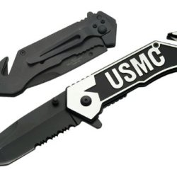 Usmc Rescue Assisted Pocket Knife