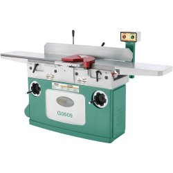 Grizzly G0609 Parallelogram Jointer With 4 Knife Cutterhead, 12-Inch