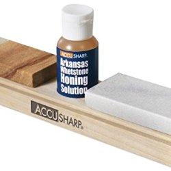 Accusharp Arkansas Whetstone Knife Sharpening Kit