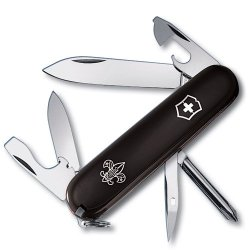 Victorinox Swiss Army Tinker Boy Scout Pocket Knife (Black)