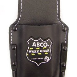 Abco 1320-1 Heavy Duty Premium Leather Hammer Holder And Knife Sheath