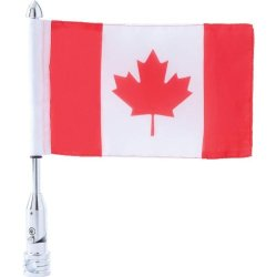 Incomparable Diverse Standout Motorcycle Mc Flagpole Mount & Canada Fla Exclusive