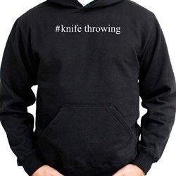 #Knife Throwing Men Hoodie