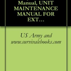 Tm 10-1670-286-20, Us Army, Technical Manual, Unit Maintenance Manual For Extraction Line Panel, (Including Stowing Procedures), Nsn 1670-01-183-2678, 2001