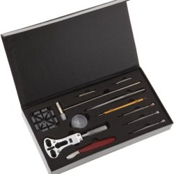Paylak Tsa9007 Watch Repair Tool Kit With Battery Changing, Watch Opening, Band Sizing And Storage Case