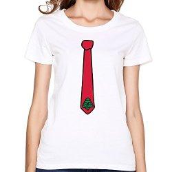 Hot Tie Christmas Tree Womenst Shirt