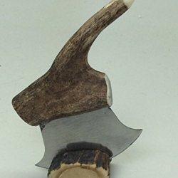 Alaska Mini Petite Ulu Knife Antler Handle 3""