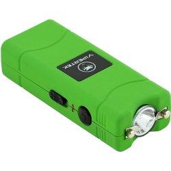 Vipertek Vts-881 - 17,000,000 V Micro Stun Gun - Rechargeable With Led Flashlight (Green)