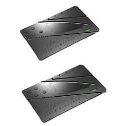 Credit Card Sized Folding Knife(2 Pcs)