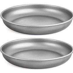 Healthpro Super Strong Lightweight Titanium (Ti) Dinner Plate, 7-Inch (2)