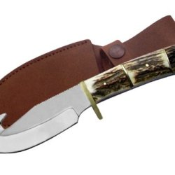 Szco Supplies Stag Guthook Knife