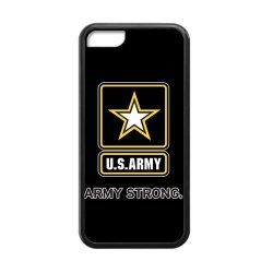 Jdsitem U.S. Army Strong Star Design Case Cover Sleeve Protector For Phone Iphone 5C Tpu (Laser Technology)